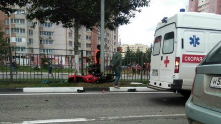 В Ярославле в ДТП погиб молодой мотоциклист: первые подробности аварии