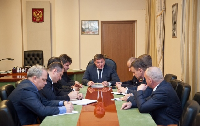 Губернатор Волгоградской области провел совещание с силовиками