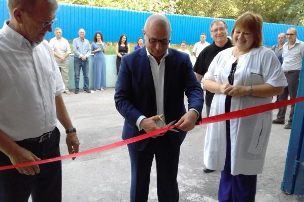 Новая учебная мастерская открылась 13 сентября в многофункциональном центре прикладных квалификаций