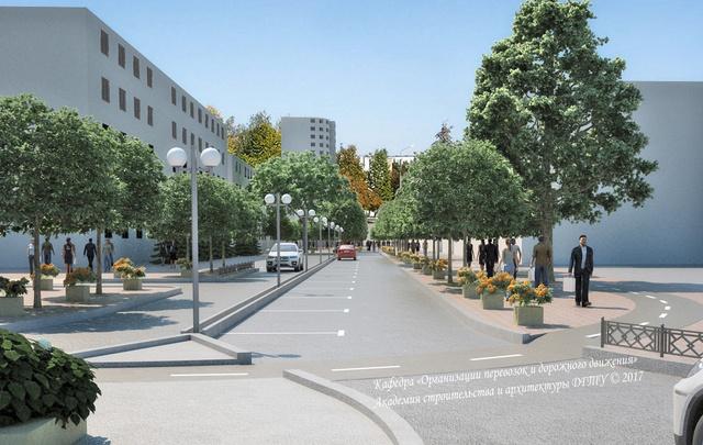 Ростовчане могут проголосовать за создание пешеходной зоны на улице Сержантова