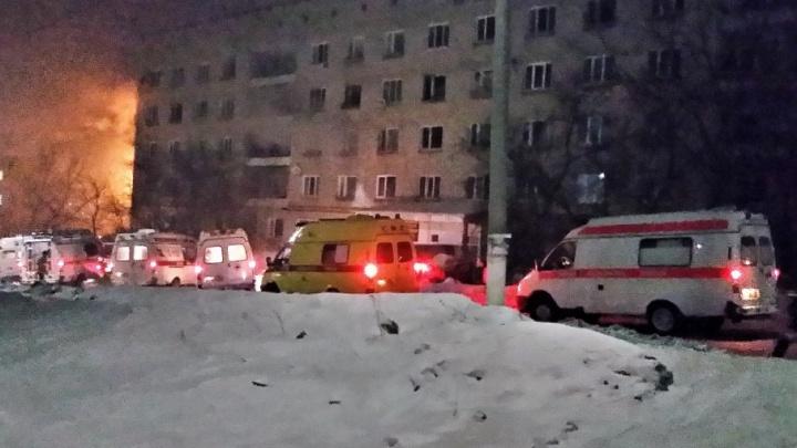 В Прикамье при пожаре в общежитии погибли шесть человек