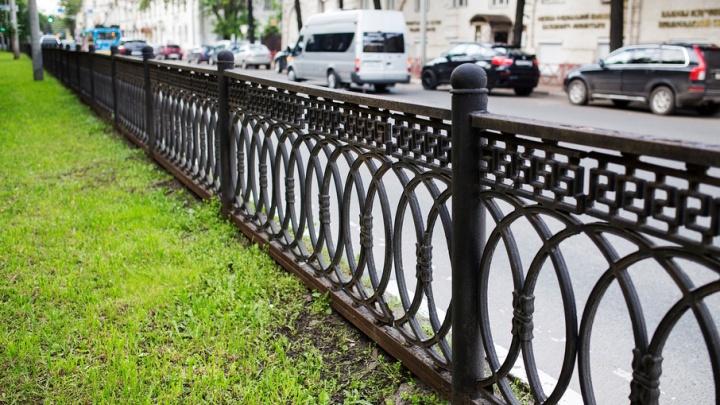 Мэрия о сносе чугунной ограды: планировали убрать совсем другие заборы