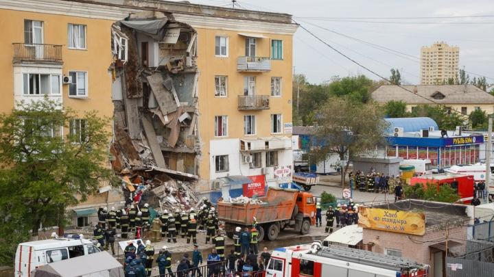 Жители разрушенного взрывом дома в Волгограде получат по 50 тысяч на семью