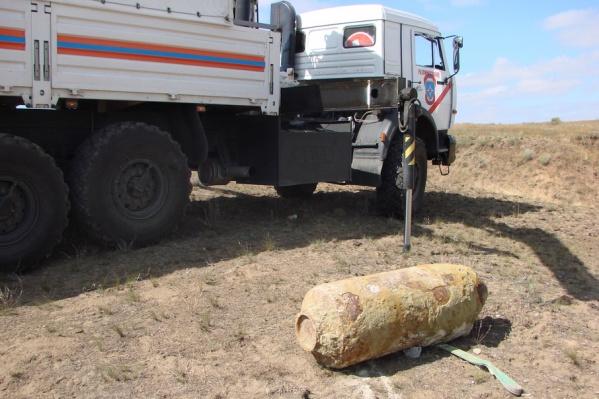 Неразорвавшиеся боеприпасы в Волгоградской области продолжают находить спустя более 70 лет после окончания войны