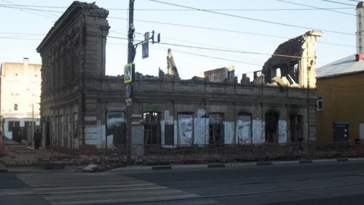 В Самаре начали сносить старинное здание на Галактионовской — Рабочей