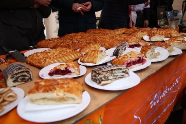 Гостям праздника предложат вкусные угощения