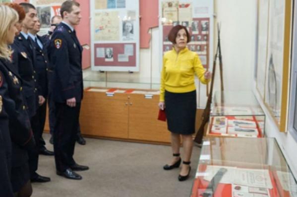 Экскурсия в музее ГУ МВД