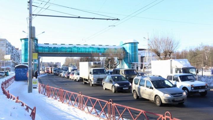 Начальник ГИББД назвал утренний коллапс на Московском бездумным экспериментом