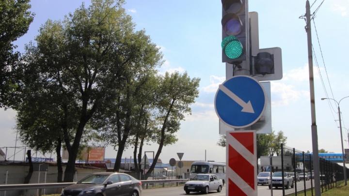 Пешеходные светофоры ставят на трассах Волгоградской области
