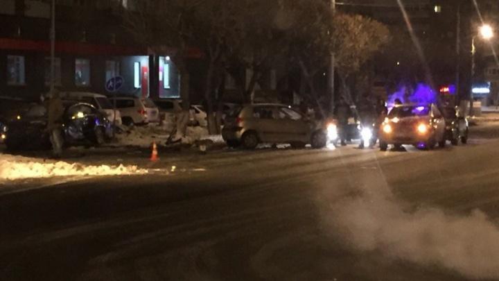 Пьяный тюменец устроил ночью два ДТП с пострадавшими