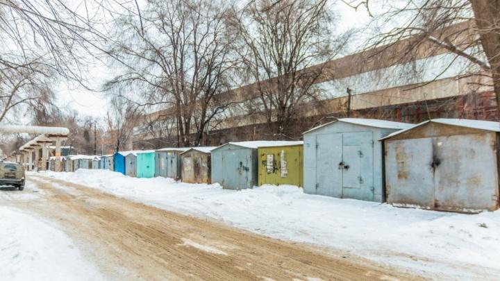 Пойдут под снос: в Железнодорожном районе демонтируют 14 гаражей