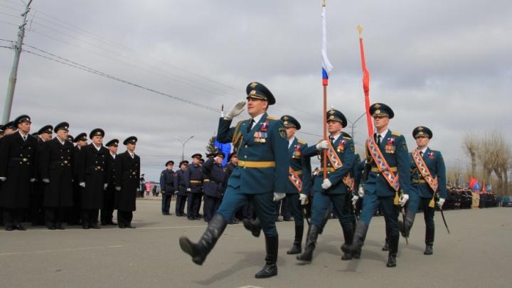 Архангельск к 9 Мая готов: как в столице Поморья прошла генеральная репетиция парада Победы