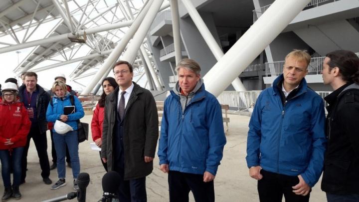 Комиссия FIFA: «Мы приехали для того, чтобы найти практические решения»