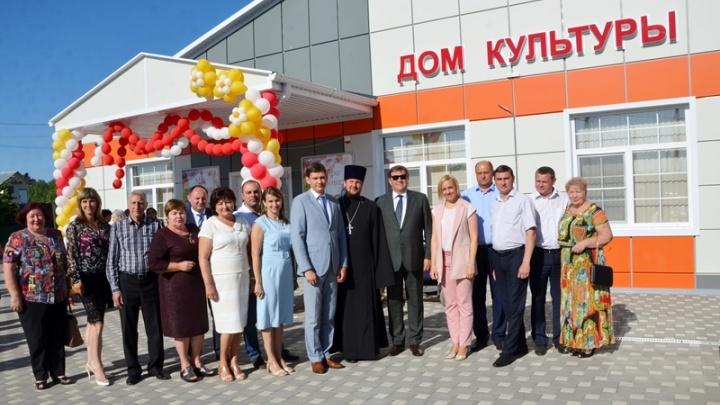 В хуторе Ленина Аксайского района построили новый дом культуры