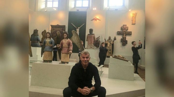 «Не ожидал, что я такое увижу!»: Олег Газманов восхитился Пермской художественной галереей
