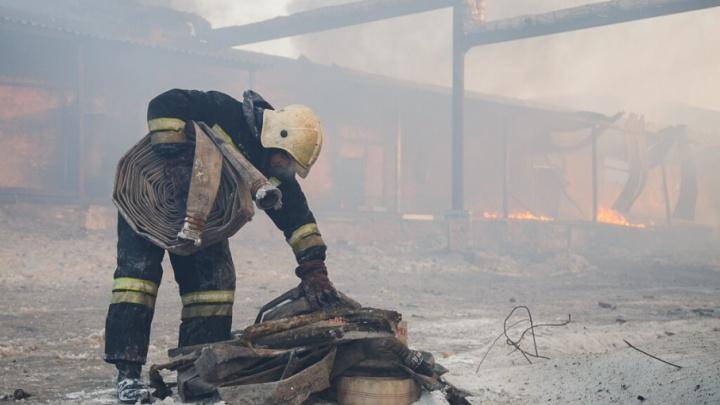 В Волгоградской области сгорел 40-летний мужчина