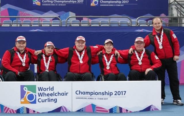 Челябинцы стали вице-чемпионами мира по кёрлингу на колясках