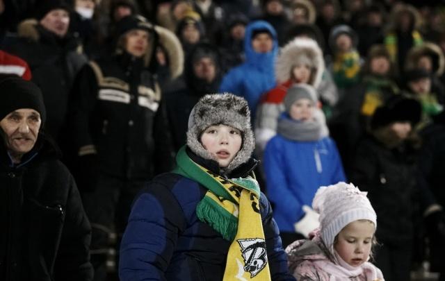 В повторном матче «Водник» разгромил «Уральский трубник»