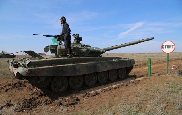 Под Волгоградом лучшие танковые экипажи определит «Танковый биатлон»