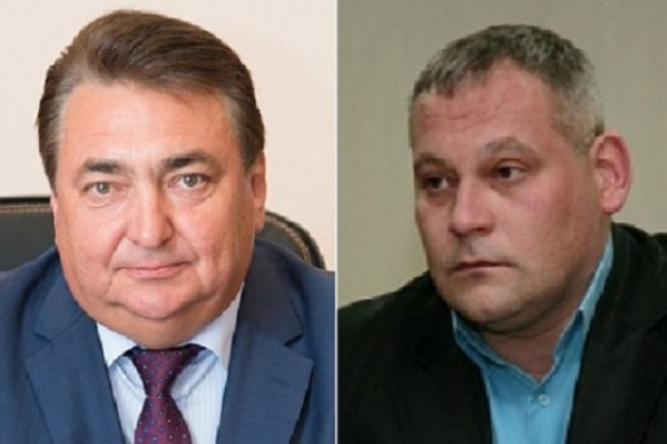 Владимир Сластенин и Вячеслав Коновалов