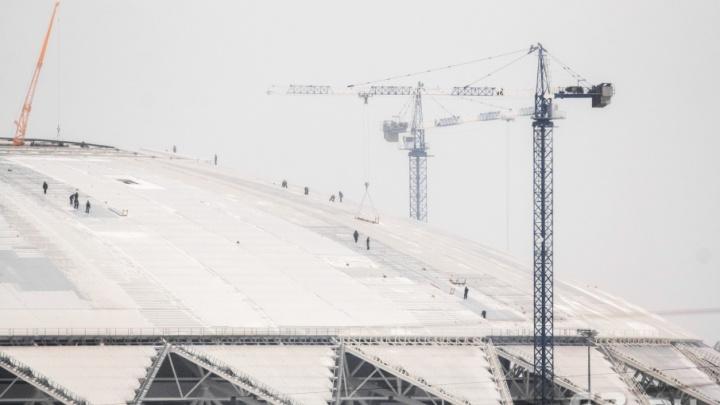Высоко сижу, на футбол гляжу: строители «Самара Арены» показали одну из ВИП-трибун