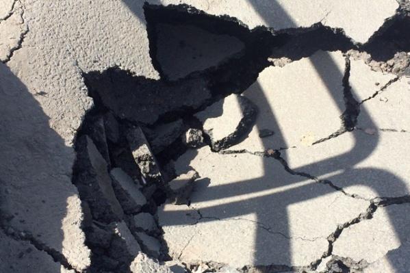 Многие внутриквартальные дороги требуют срочного ремонта