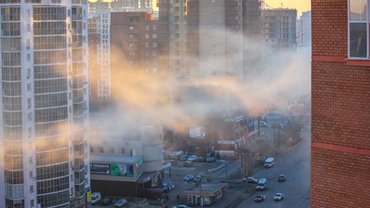Большегрузам запретили въезжать в Челябинск во время смога