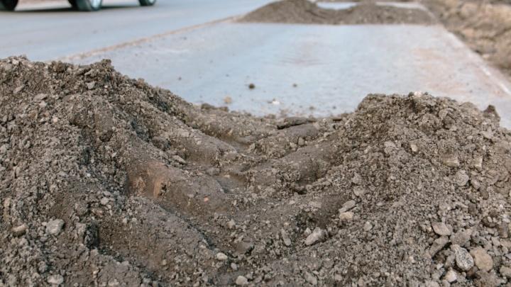 Тротуар у «Новой Самары» вместо ремонта покроют асфальтовой крошкой