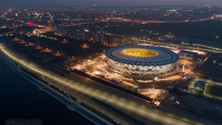 Фотограф показывает неповторимую атмосферу Волгограда с высоты