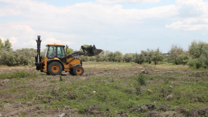 В Ростовской области убрали несанкционированную свалку за 4,25 млн рублей