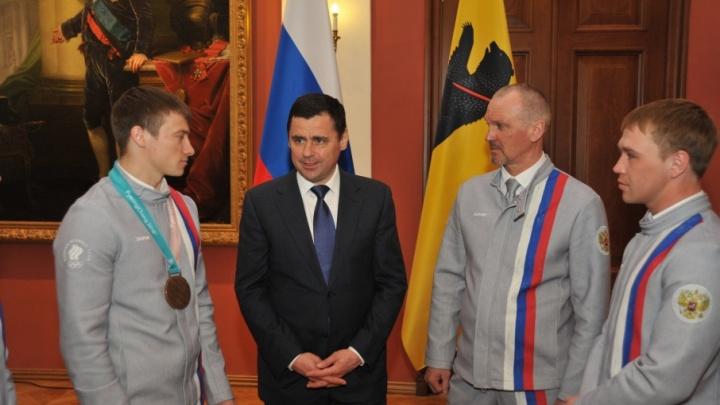 Ярославских фристайлистов снова наградили: губернатор выдал сертификаты на квартиры