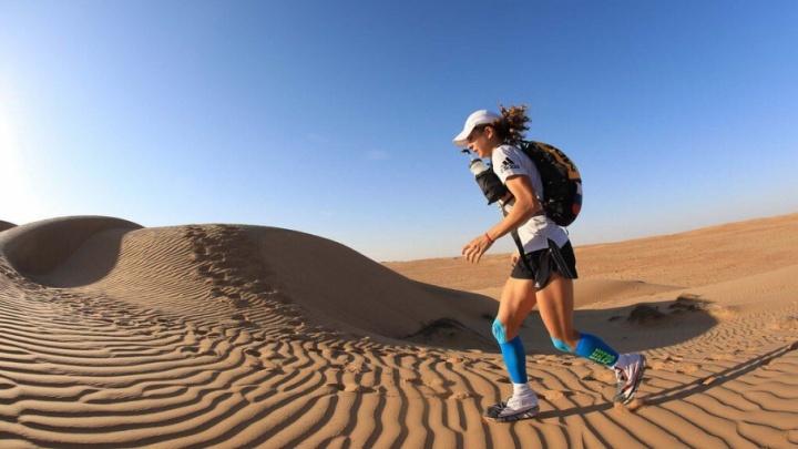 Пермячка победила в ультрамарафоне по оманской пустыне