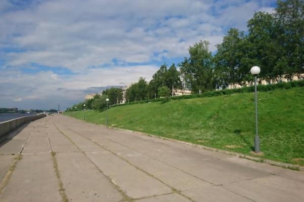 Отремонтированный участок торшерной линии составляет 800 метров