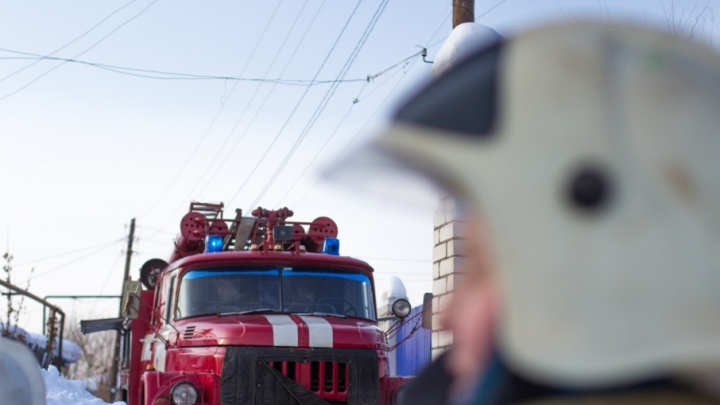 В Тольятти горел жилой дом в Автозаводском районе