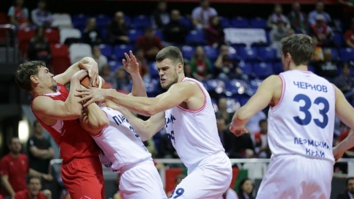 Пермские баскетболисты вылетели из Кубка России