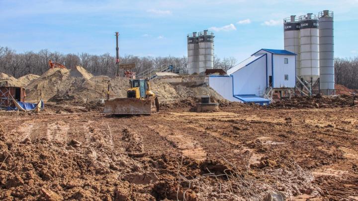 В Самаре  подрядчика строительства стадиона к ЧМ-2018 заставят убраться в лесу