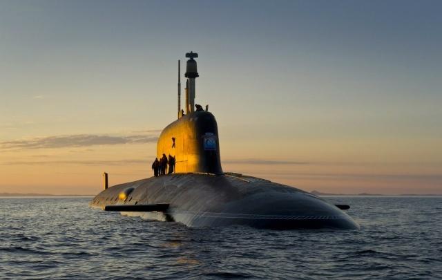 В Северодвинске спущен на воду атомный подводный крейсер «Казань»
