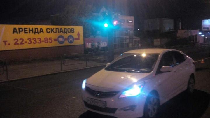 В Челябинске подросток-нарушитель попал под автоудар