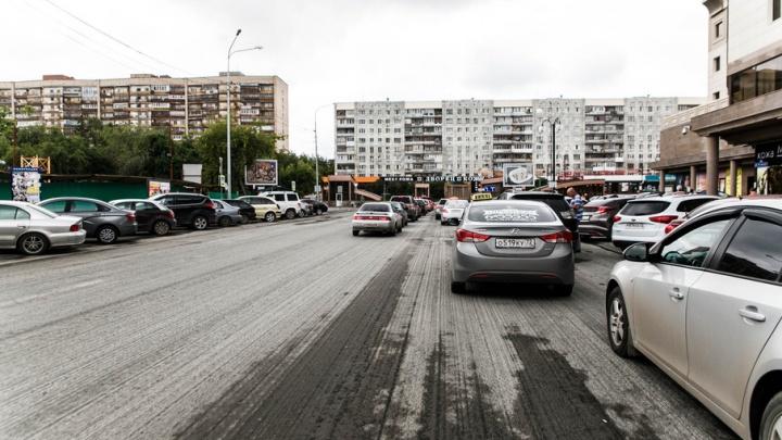На улице Максима Горького три недели будет идти ремонт дороги и тротуаров