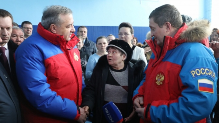 Владимир Пучков пообещал пострадавшим от паводка волгоградцам компенсации