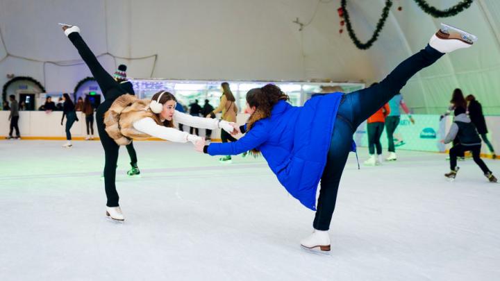 Где покататься на коньках: рассказываем о шести самых веселых и холодных местах в Ростове-на-Дону