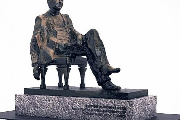 Визуализация памятника Георгию Буркову