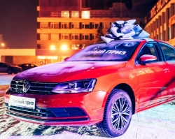 «Автоцентр Керг» поздравил с Новым годом и подарил автомобиль