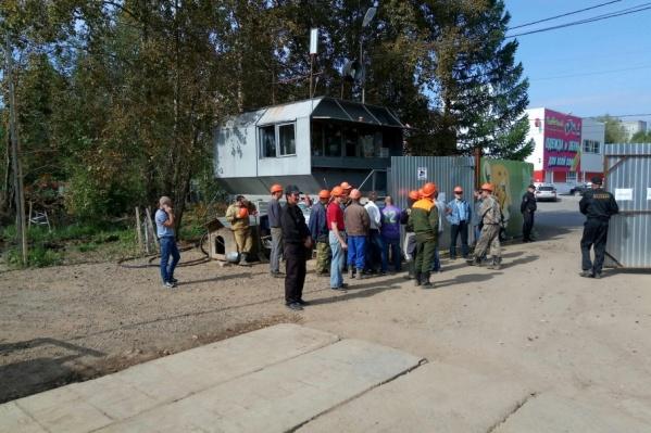Забастовка рабочих прошла 1 сентября