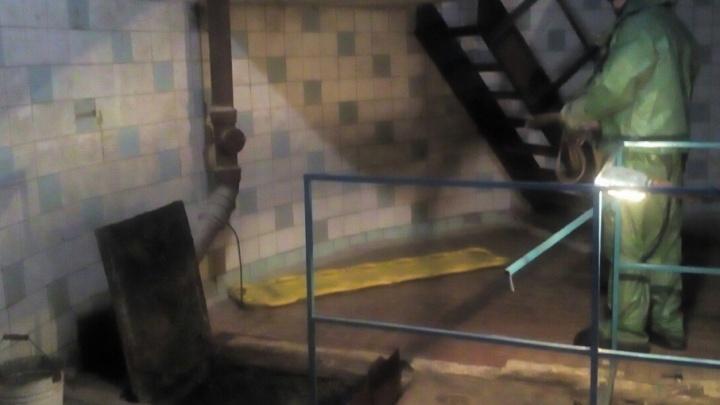 В шахте водонапорной станции под Котласом обнаружили труп мужчины