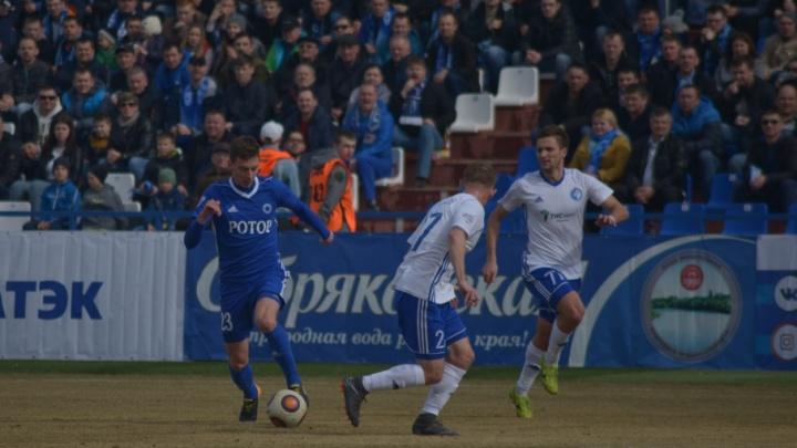 Волгоградскому «Ротору» не засчитали единственный гол на стадионе «Зенит»