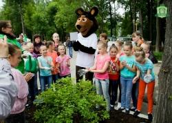 В парке Горького появятся дубы и ивы