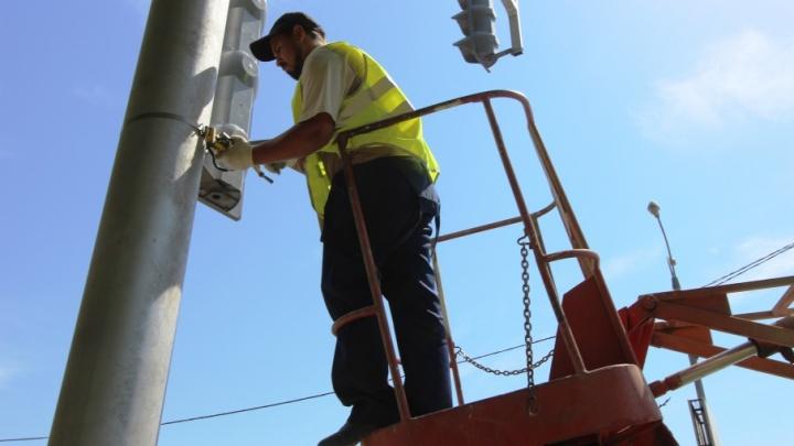 Пять новых светофоров появилось на трассах Волгоградской области
