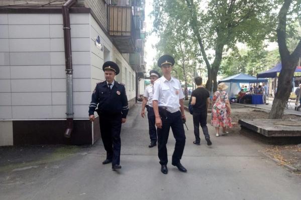 У правоохранителей сегодня рабочий день