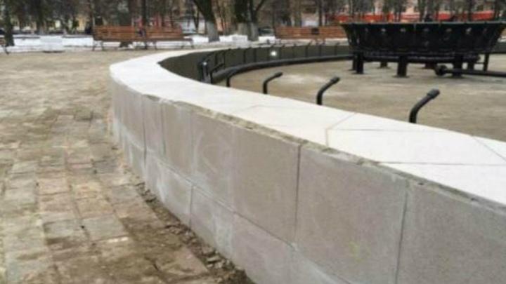 Заказчик работ в парке 50-летия ВЛКСМ объяснил, что творится со скандальным фонтаном